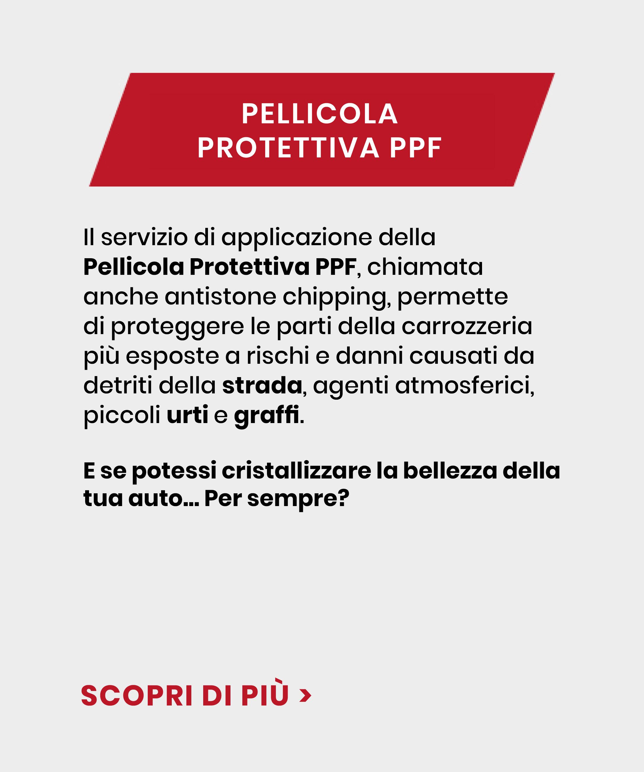 Pellicola Protettiva PPF